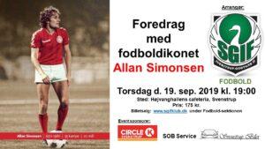 Foredrag med fodboldikonet Allan Simonsen