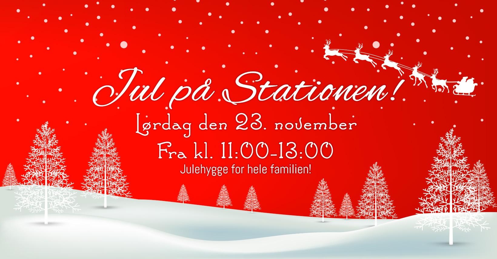 Jul på stationen