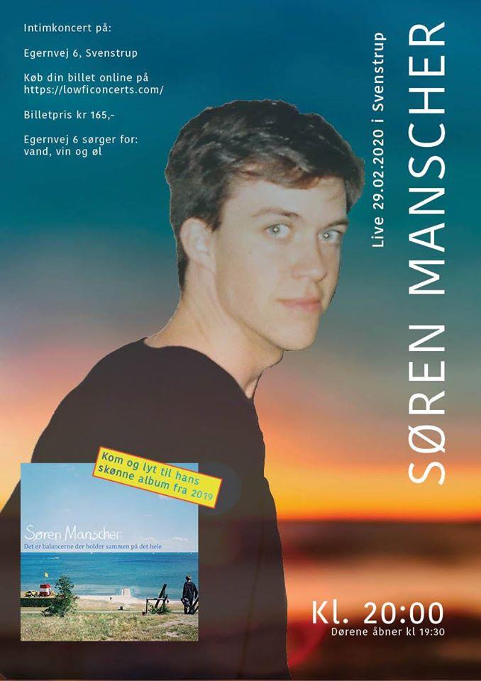 Søren Manscher LIVE
