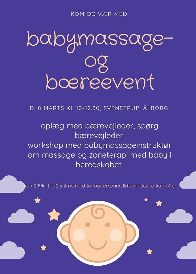 Babymassage og slyngevejledning