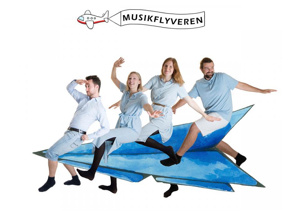 """Musikflyveren - """"Fra Morgenmad Til Skumbad"""""""