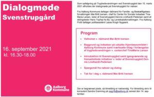 Dialogmøde på Svenstrupgård