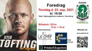 Foredrag med Stig Tøfting