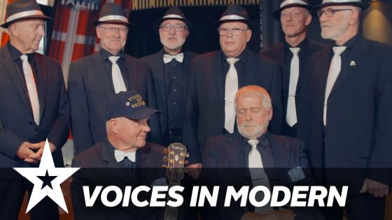 Spisning og koncert med Voices in Modern